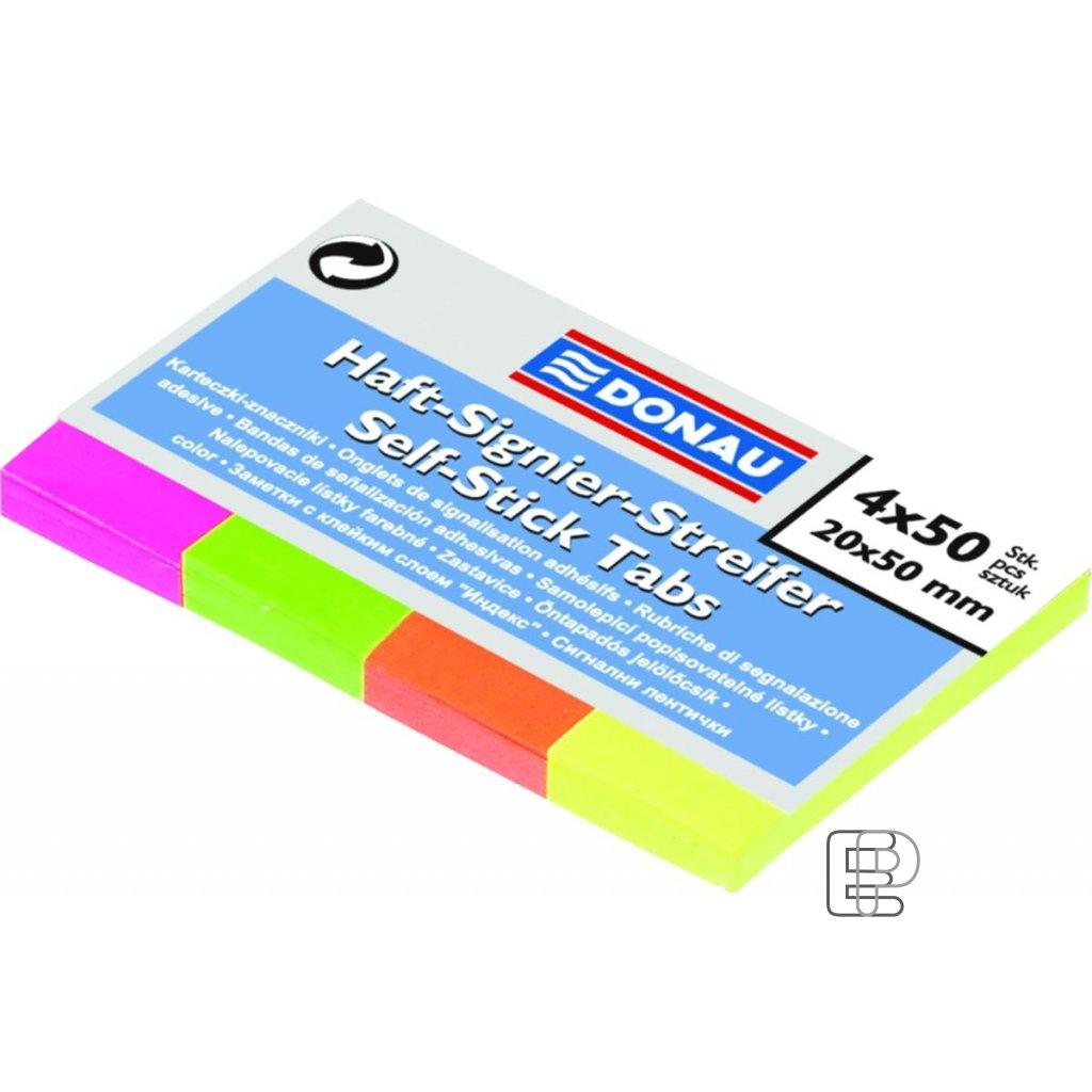 Bloček 20x50 Neonový 4-barvy 200l 757600