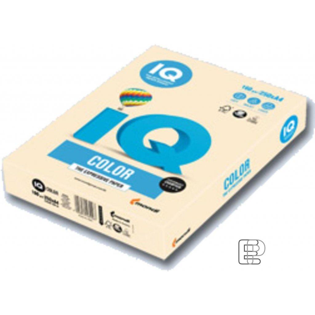 Karton A4 IQ bežový 160g 250 listů 20