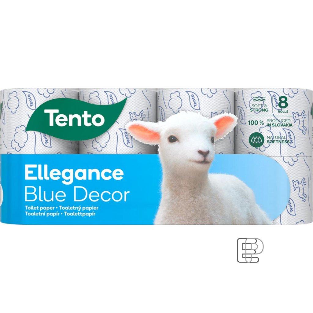 Toaletní papír TENTO Ellegance 3-vr. * /8 balení 8ks
