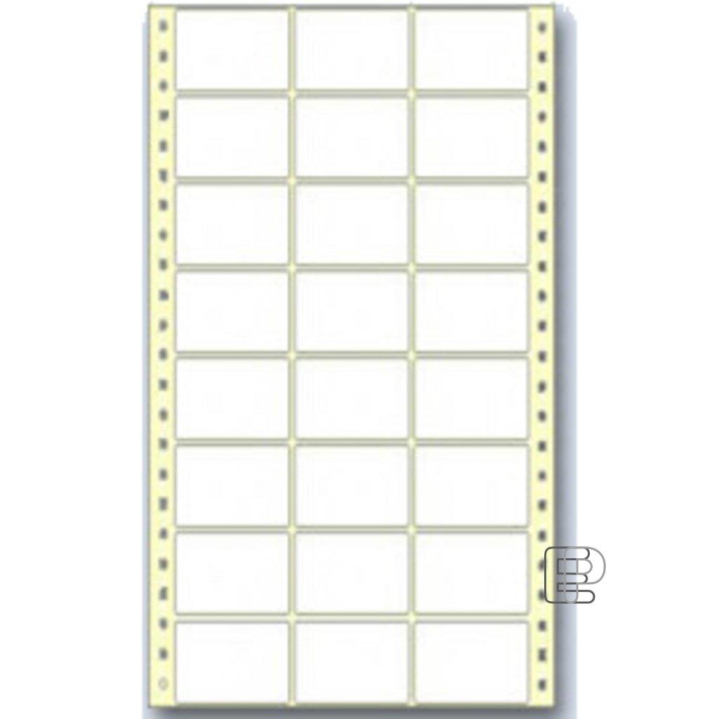 SLE 64x23 3-řadé 18000 etiket