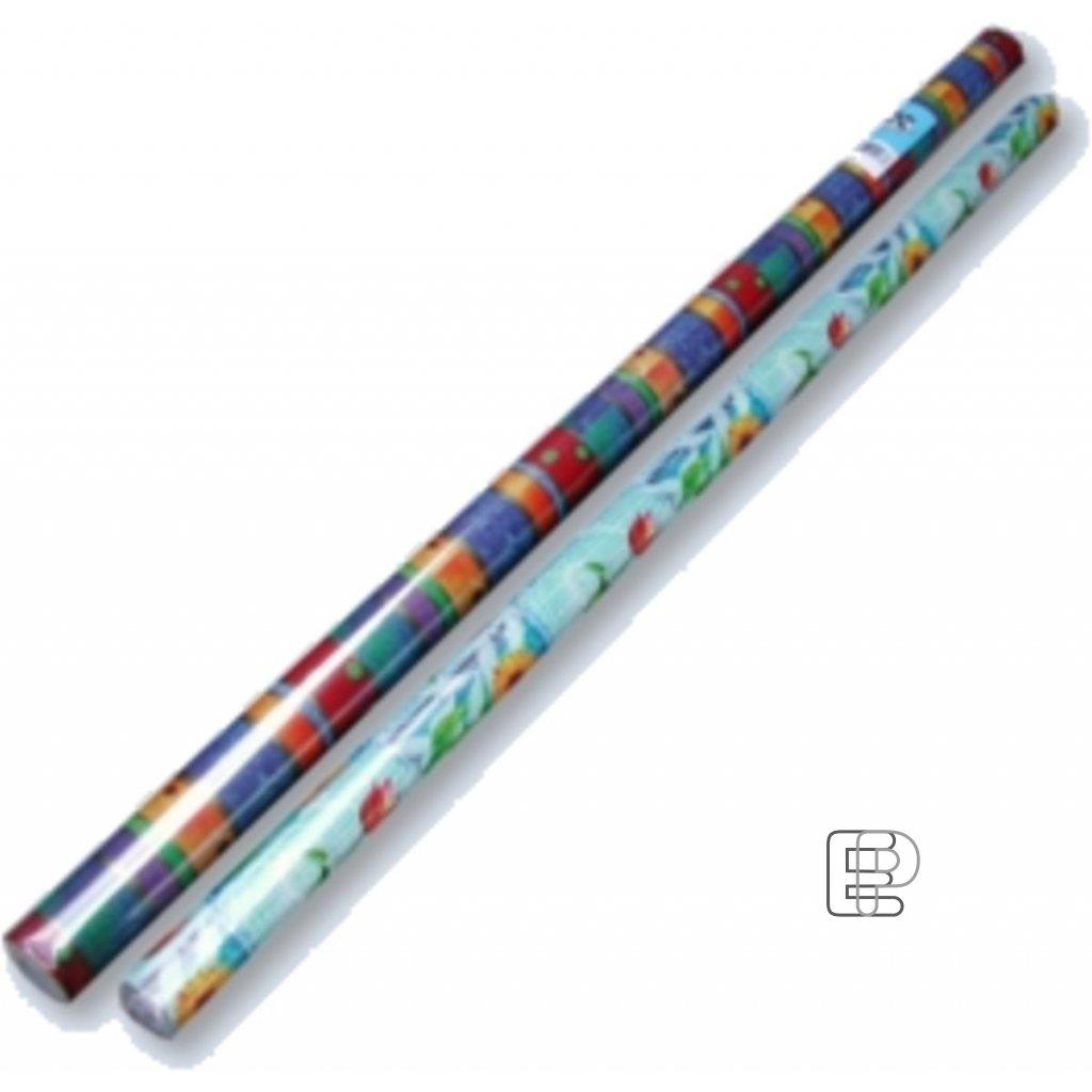 Balící papír dárkový neutrál role0.70x2m