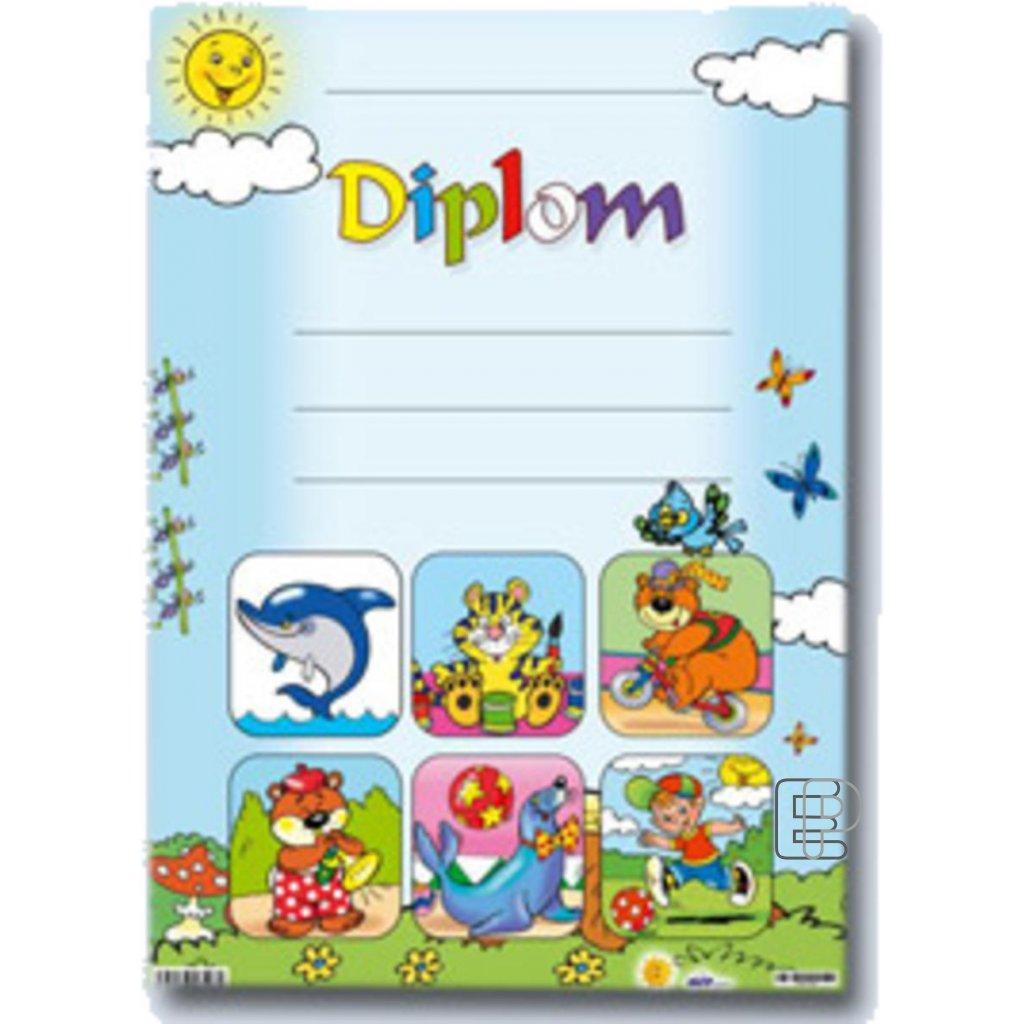 Diplom A4 dětský Delfín  5300440