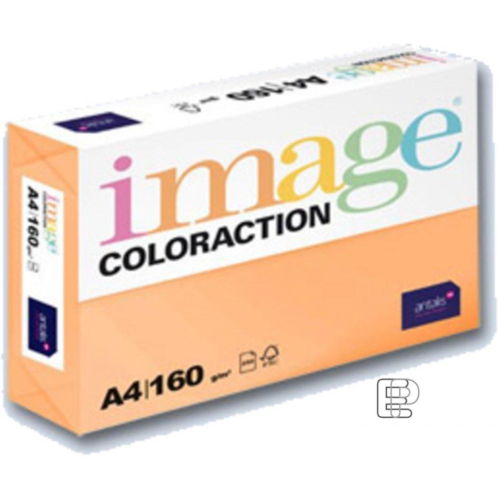 Karton A4 oranžový 160g 250 listů AG10