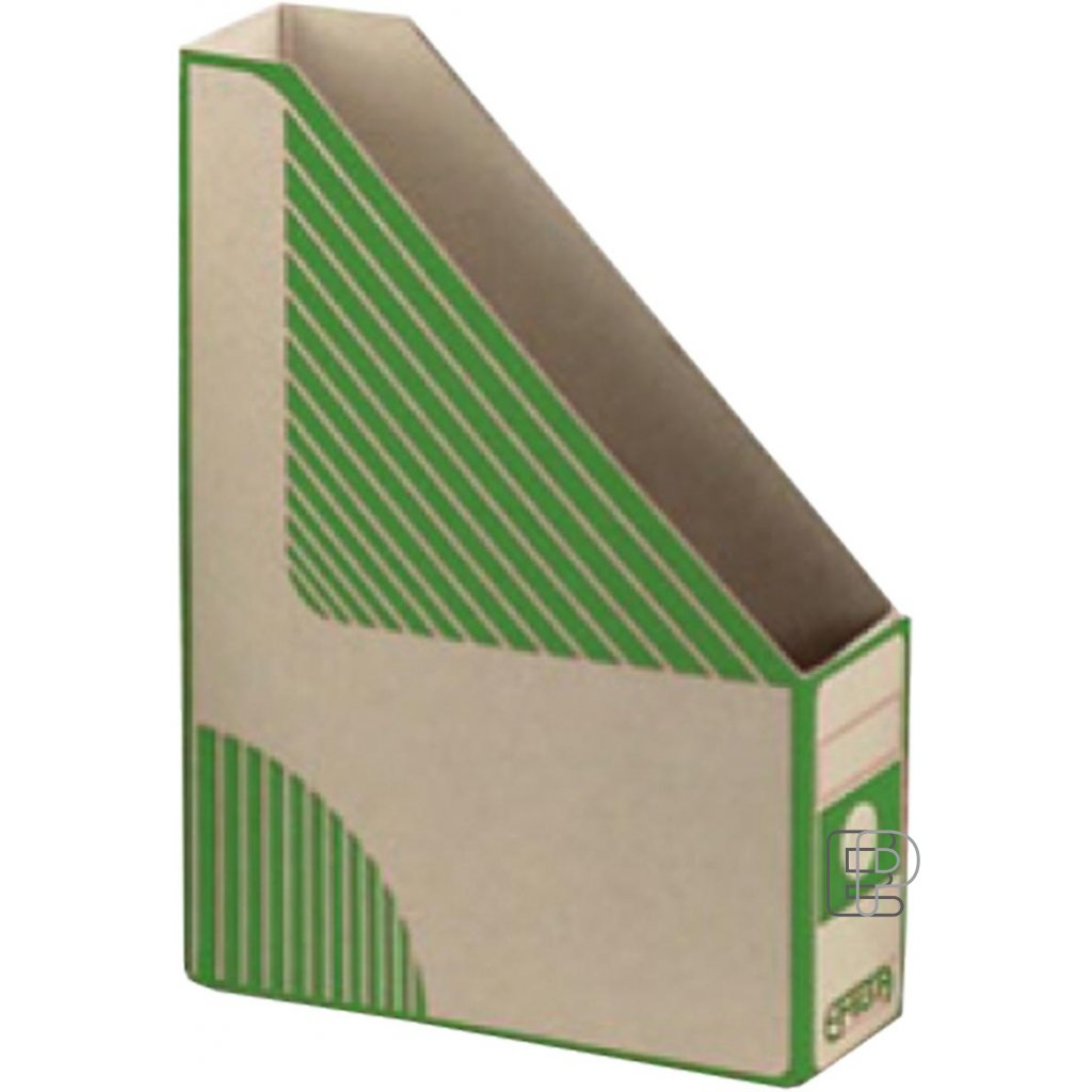 Arch.box Magazín A4 EMBA zelený zkosen75