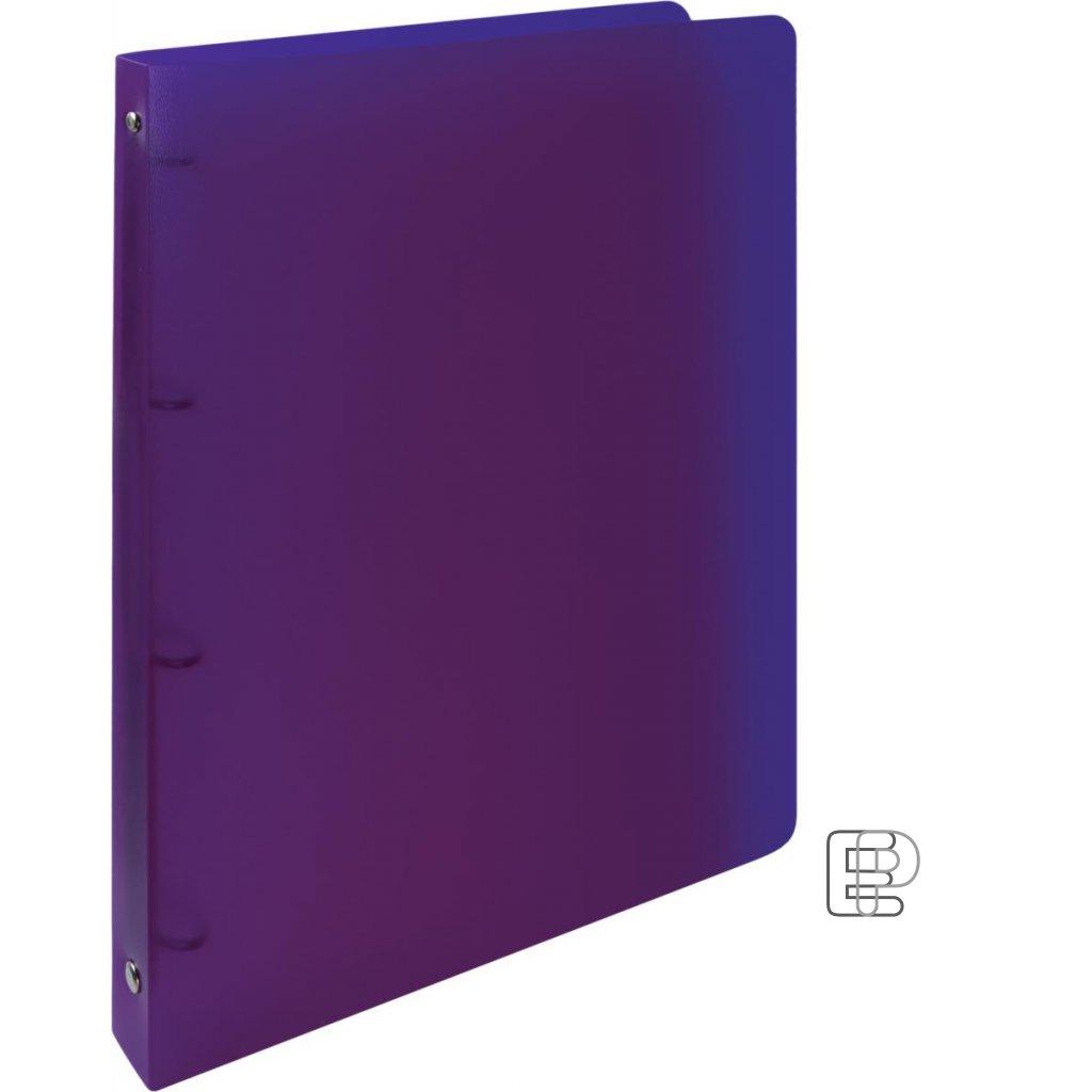 Pořadač 4-kr. Opalíne 20mm fialová