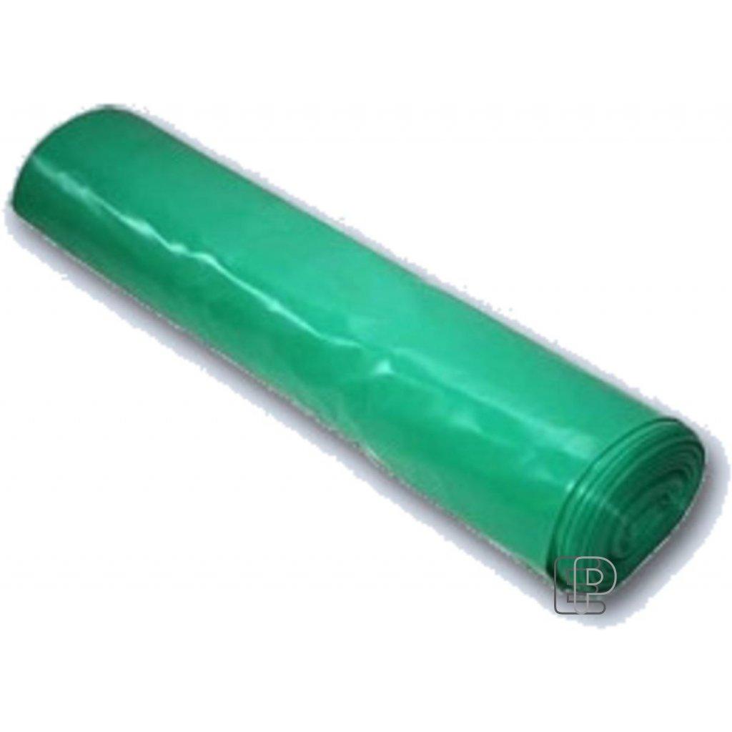 Pytel role 70x110 zelený 25ks 40mic