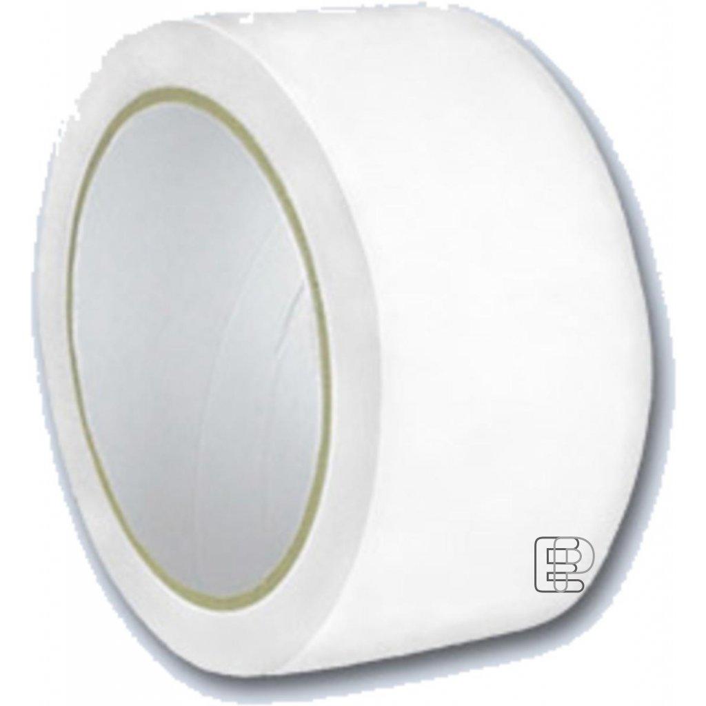Lepící páska 50/60m bílá