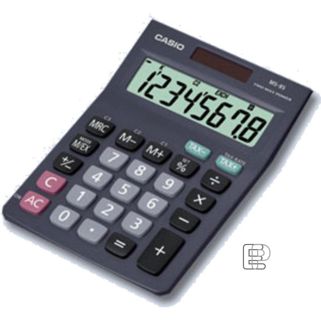 Kalkulačka Casio MS 8B S TAX 103x142mm