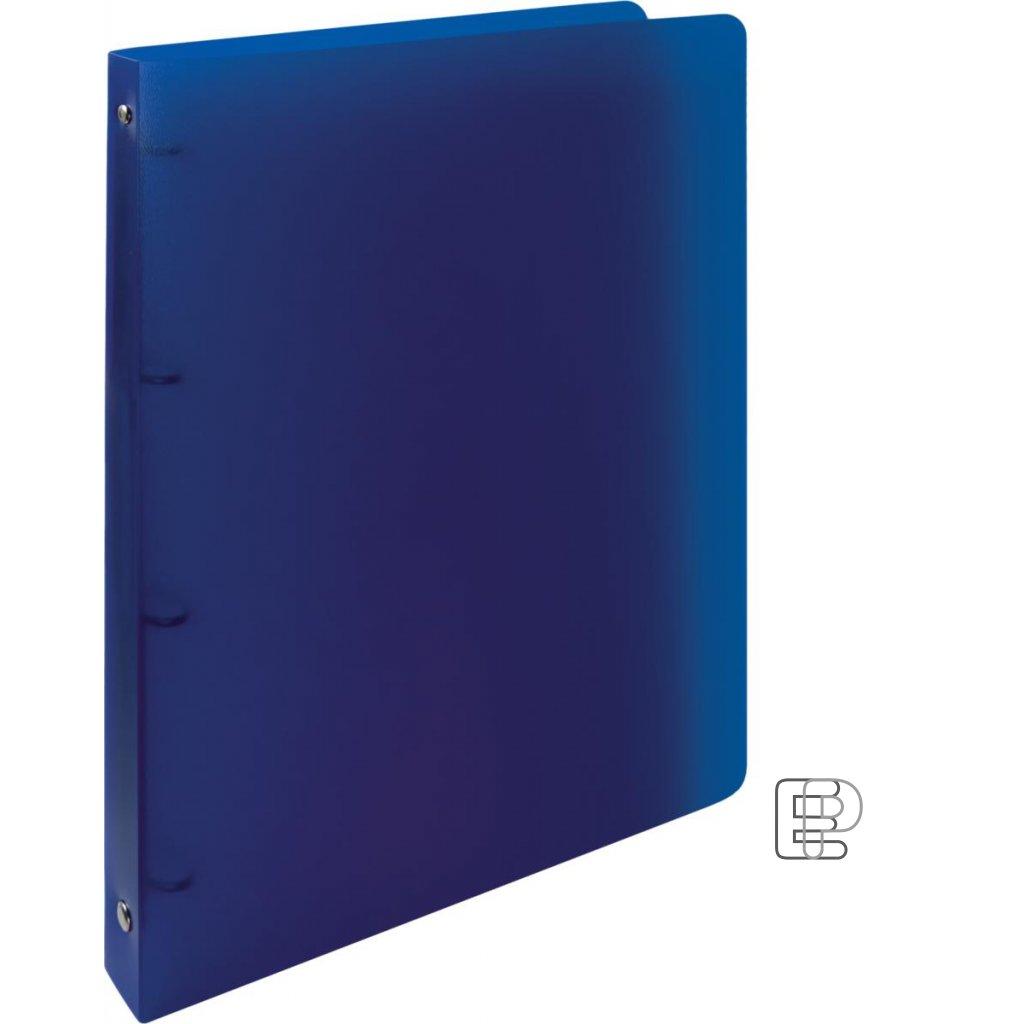 Pořadač 4-kr.Opalíne 20mm modrý