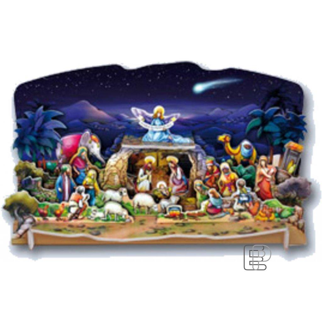 Vánoční betlém LUX 440x210x180 1120007
