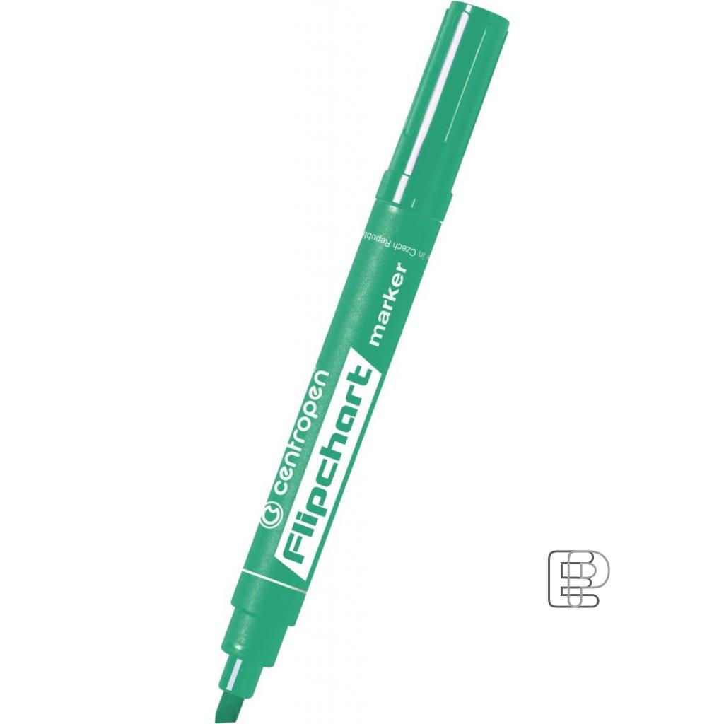 Fix 8560 zelený na flipchart papír