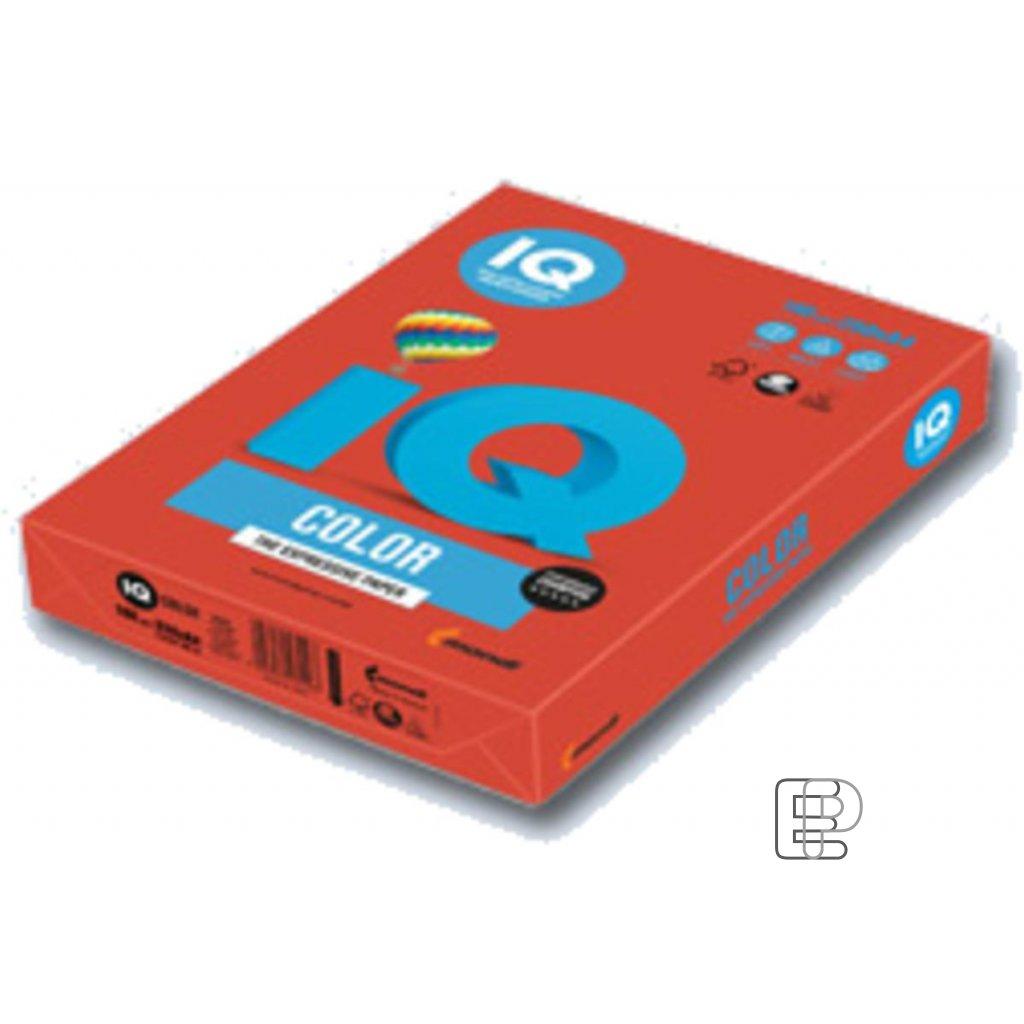 Karton A4 IQ červený 160g 250listů 44