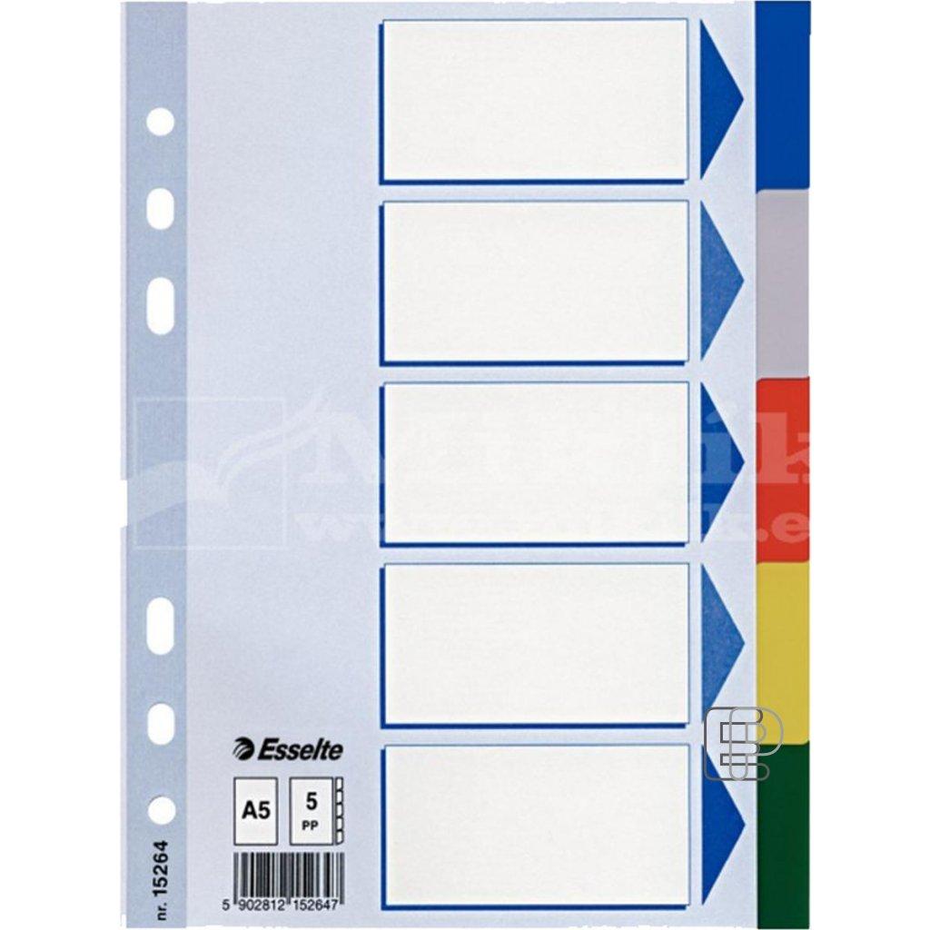 Rozdružovač A5 PP 5 barev 15264
