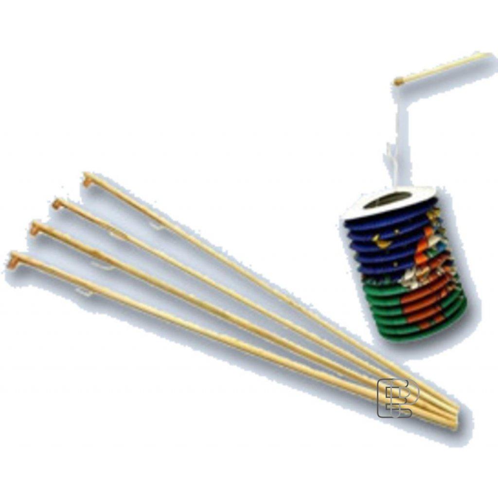 Hůlka na lampiony dřevěná