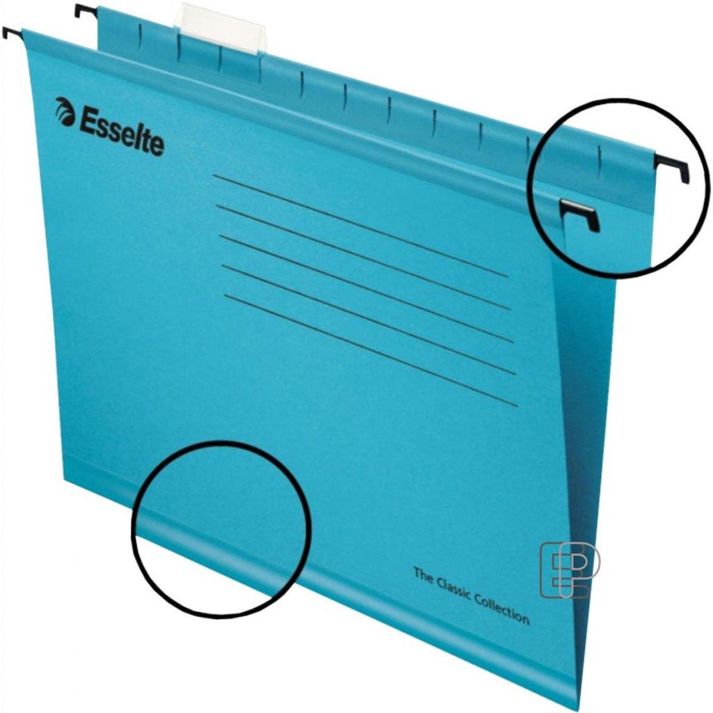 Kapsa závěsná Pendaflex modrá 90311