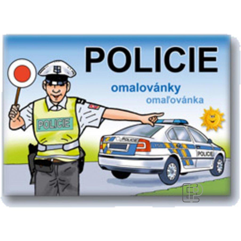 Omalovánky A5 Policie  5300459