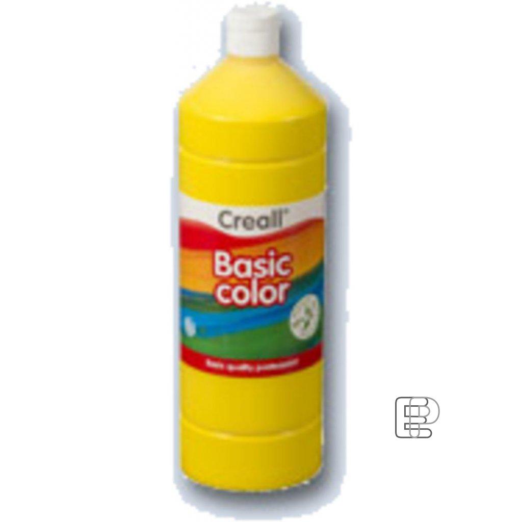 Tempera 1litr žlutá citron Creall