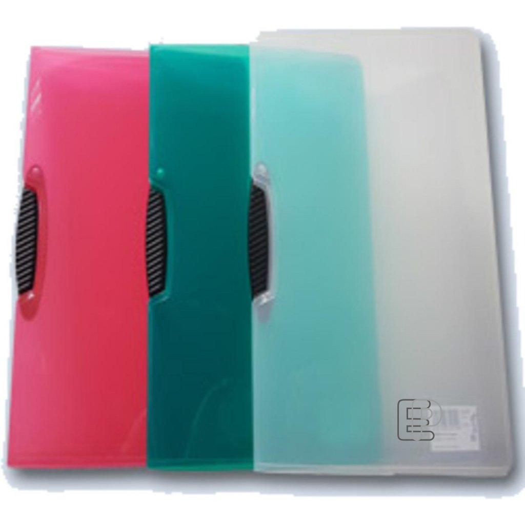 Desky A4 s profi klipem 9-010 mix barev