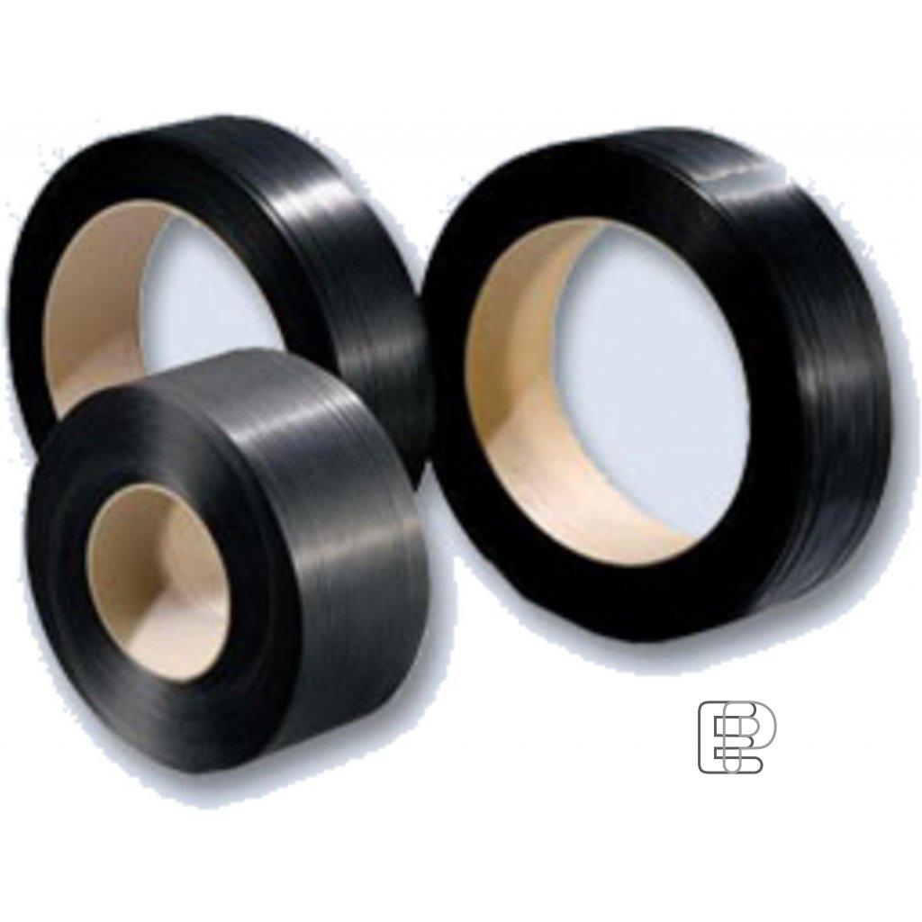 Vazací páska 12/0.55 /3000m/200mm černá