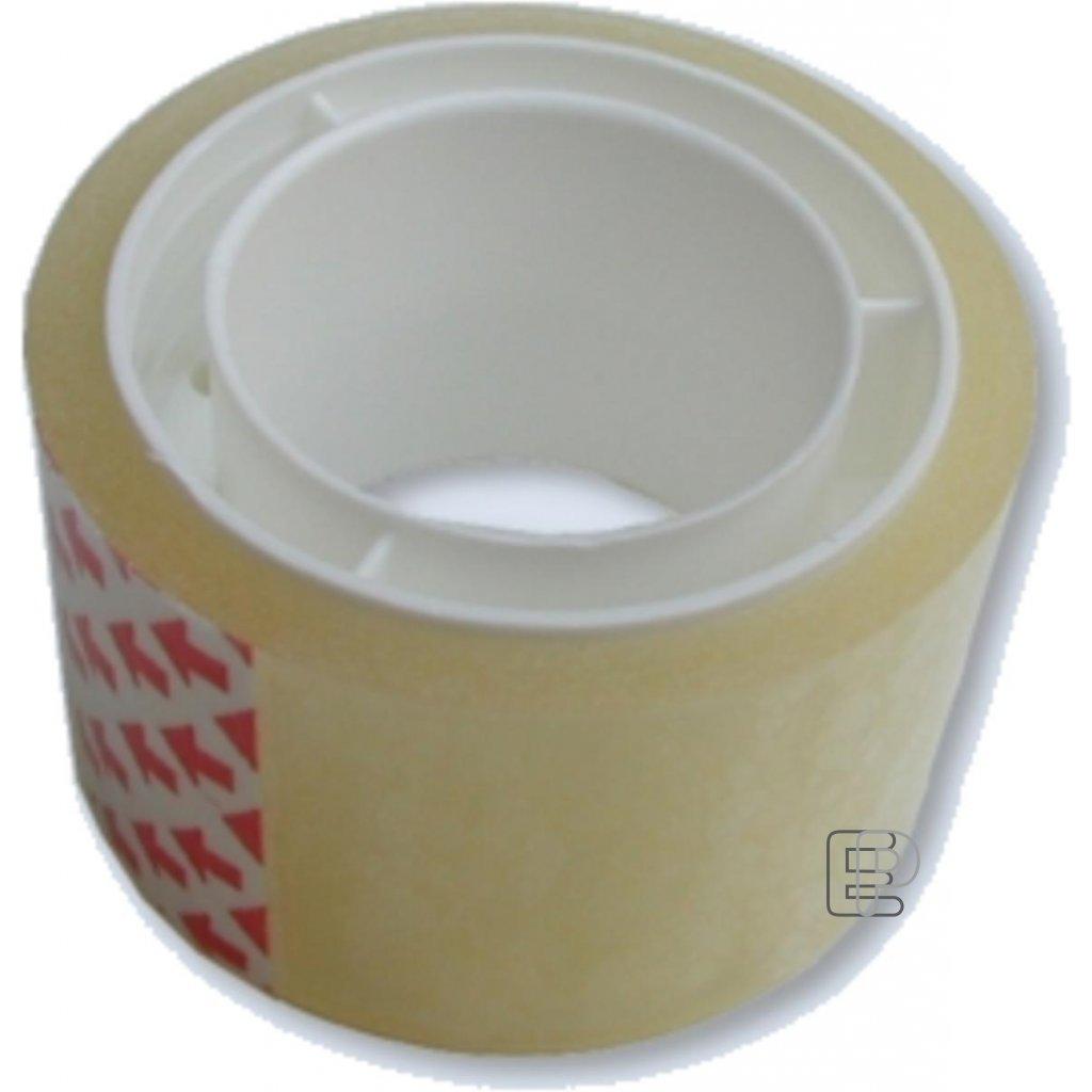 Lepící páska 25/10 transparent A64203
