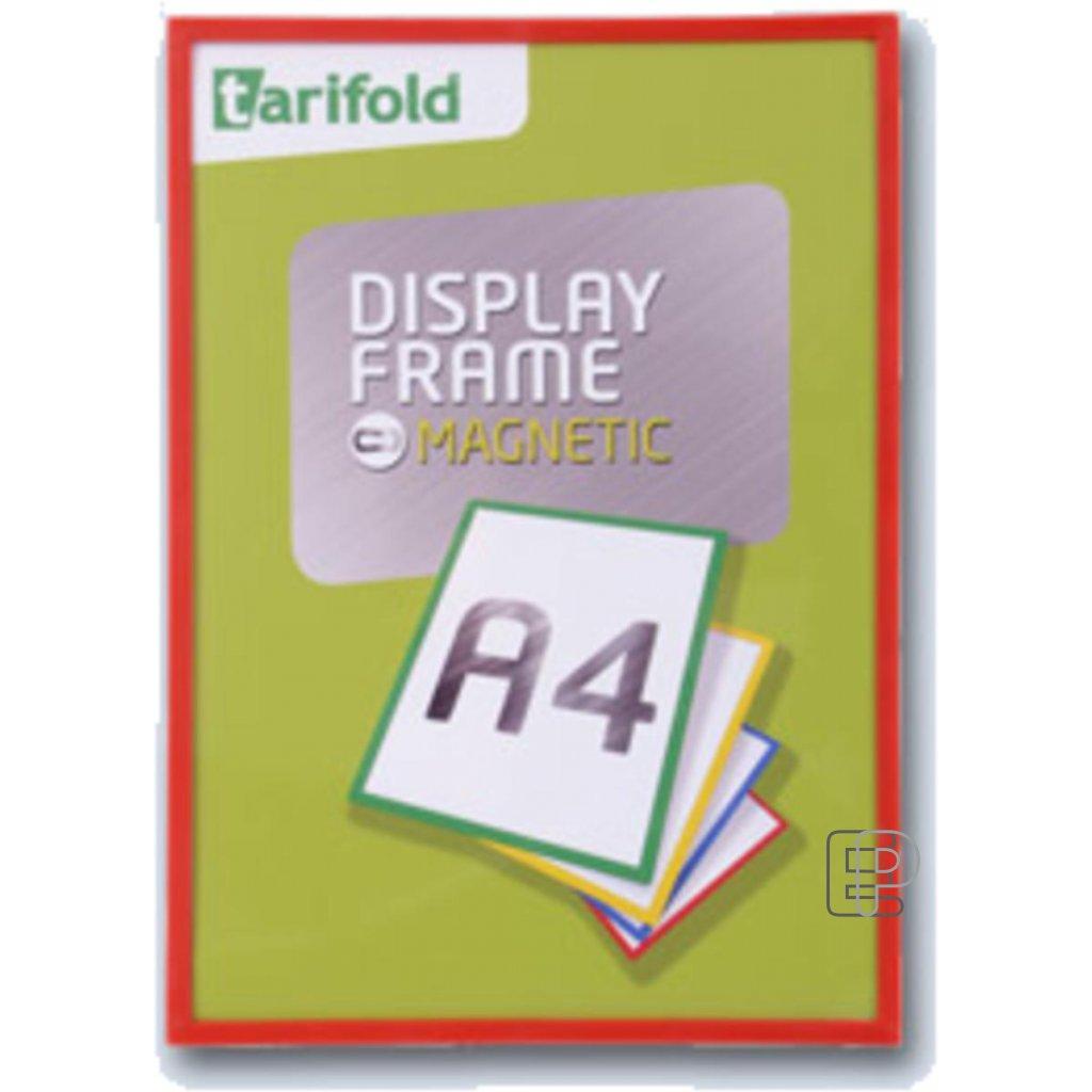Tarifold rámeček magnetický A4 červený