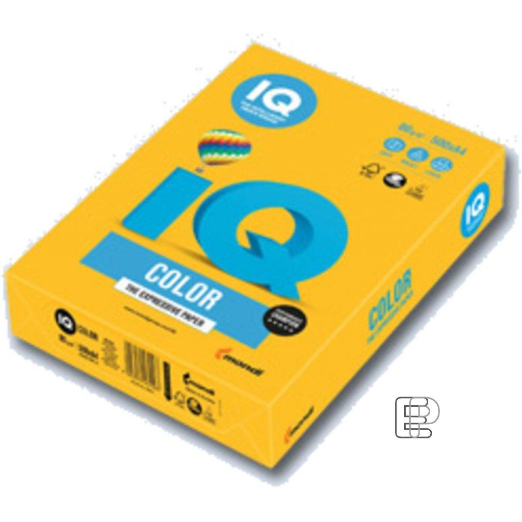 Xerox papír A4 80g.IQ tm.žlutý 500l 40