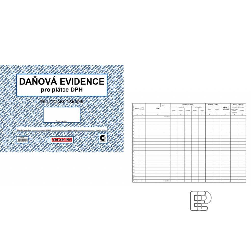 TB Daňová evidence A4 pro plátce ET330