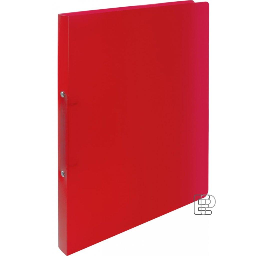 Pořadač 2-kr. Opalíne 20mm červený