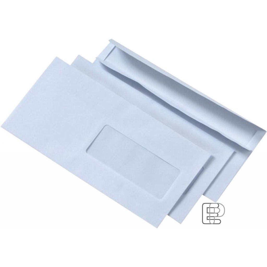 Obálka DL okno samolepící 1000ks 110x220