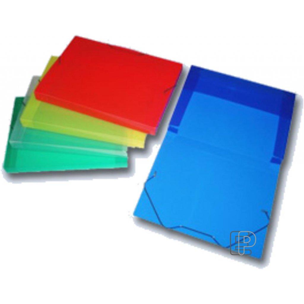 Krabice plastová 246x326x30 s gumou
