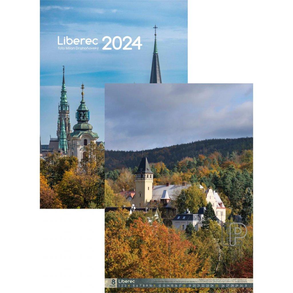 Kalendář n.2022 Liberec  315x450
