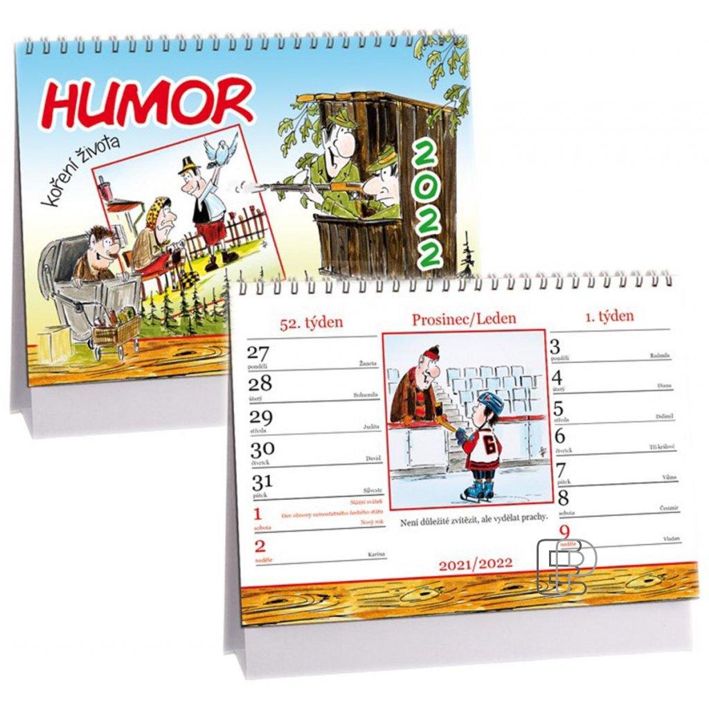 Kalendář s.2022 14-denní Humor 230x160