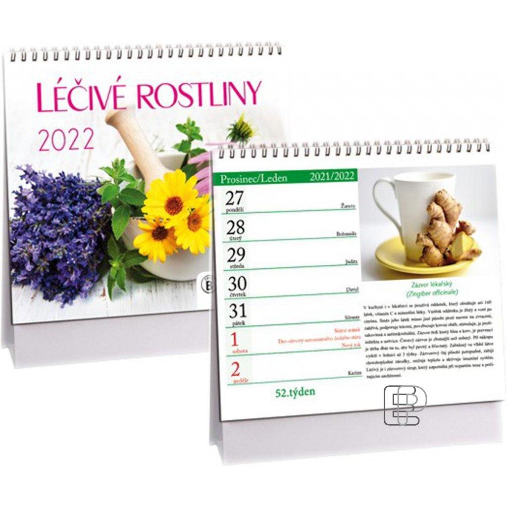 Kalendář s.2022 Léčivé rostliny 170x145