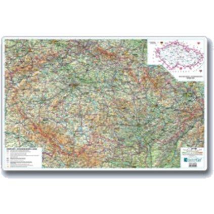 Podložka A2 Automapa ČR 3904 670x440