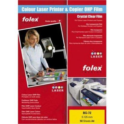 Folie A4 BG 72 Laser barevný tisk 50ks