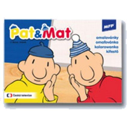 Omalovánky A5 Pat a Mat  5300920