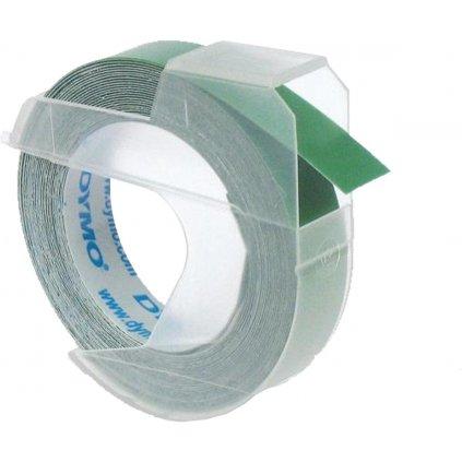 Dymo páska letratag 9mm zelená 1ks