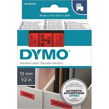 Dymo páska 12mm 45017 Černá /červenou