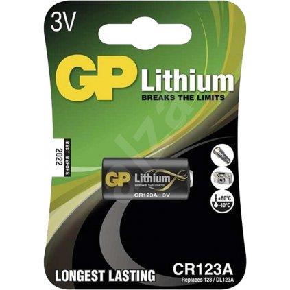 Baterie GP CR 123 A  B1501