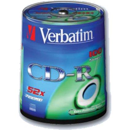 CD-R Verbatim 700MB K 100ks