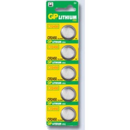 Baterie GP CR 2450/3V knoflík B1585