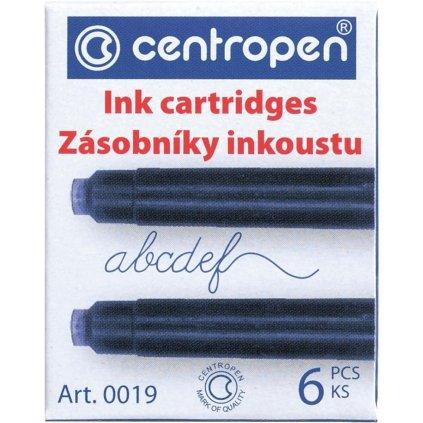 Bombičky inkoustové 6ks modré