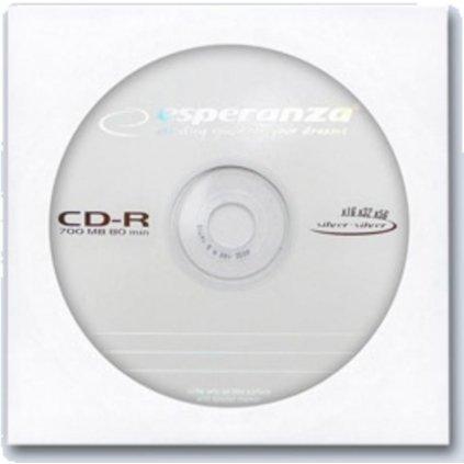 CD-R 700MB + papírová obálka s OKNEM