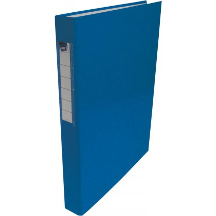Pořadač 4-kr. PP HIT modrý 35mm