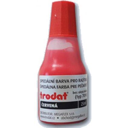 Trodat barva červená 7010r 25ml