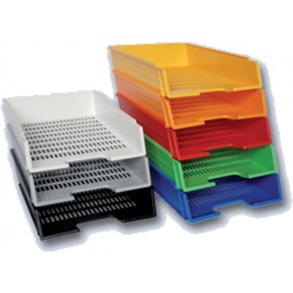 Kancelářský box plastový sv. modrý 0980