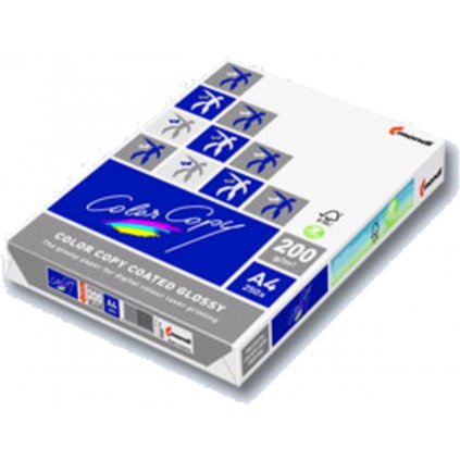 Karton A4 Color GLOSSY 200g 250l lesklý