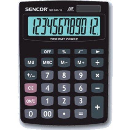 Kalkulačka Sencor SEC 340/12 100x140