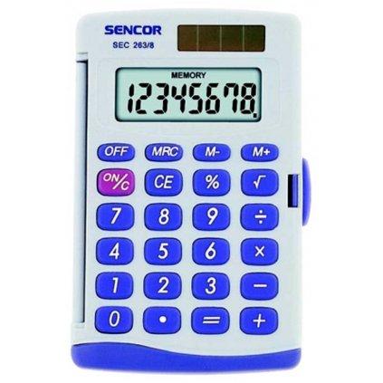 Kalkulačka Sencor SEC 263/8 Dual 95x60