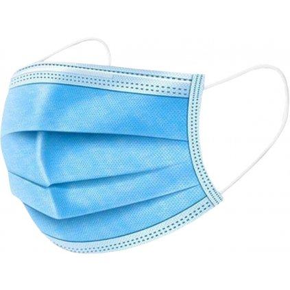 Rouška ochranná netk. textilie 3vr 50ks